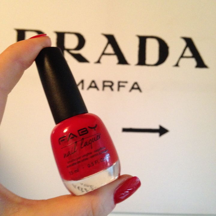 Faby Red NOTD