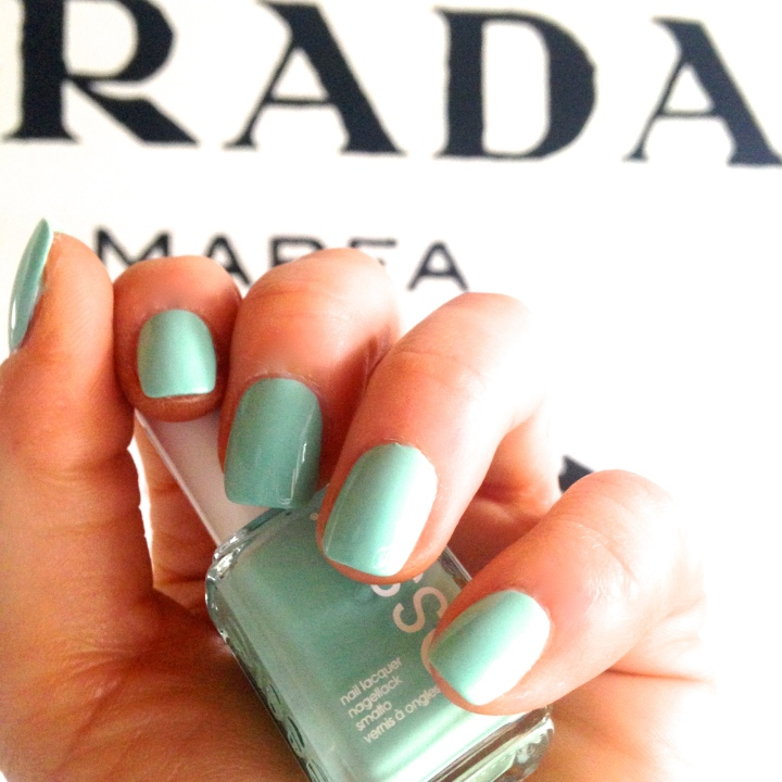 Hard Choices…Essie Mint Candy Apple